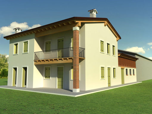Casa nuova in zona agricola