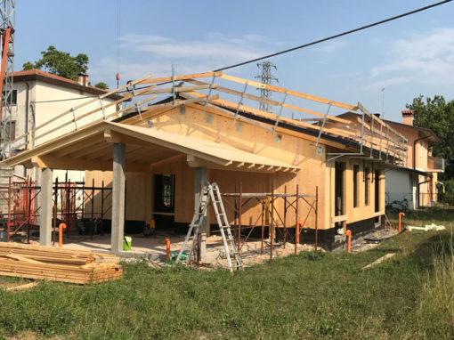 Casa nuova in legno
