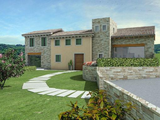 Villa ristrutturata a Monteviale